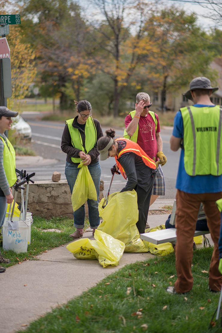 FUTS Volunteer Cleanup Effort